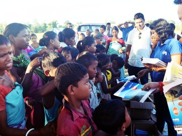 Assam flood relief operation in 2016 at Chirang District (Educational)