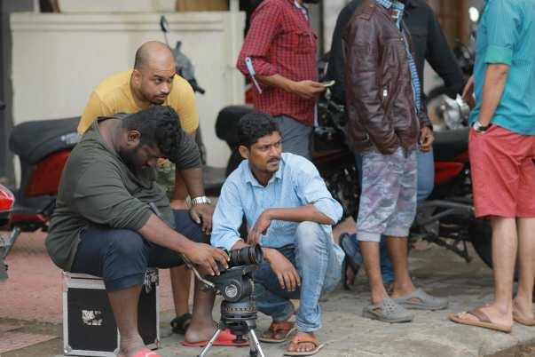 shooting scenes