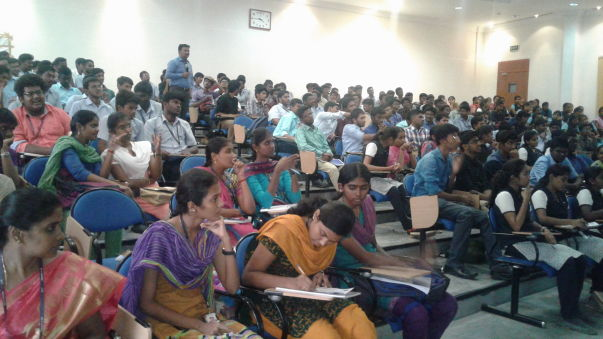 Motivating College Students @ KCT College, Coimbatore