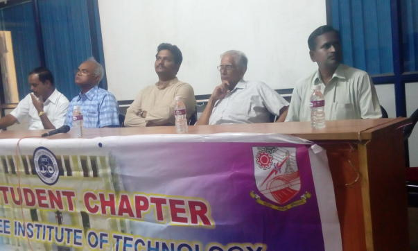 Chief Guest at Seshasayee Institute of Technology, Trichy