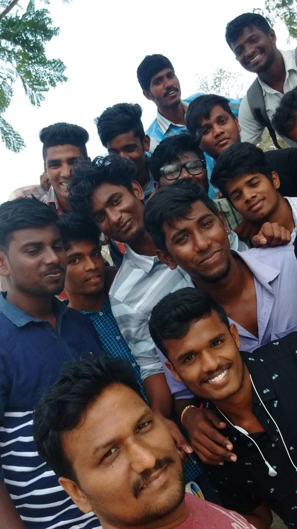 Loyola College Students Internship with Be Positive Team