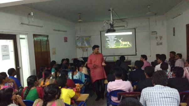 Motivating IAS Aspirants at an IAS Academy in Chennai