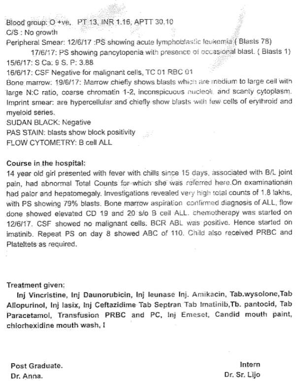 Hospital Discharge Summary - 3