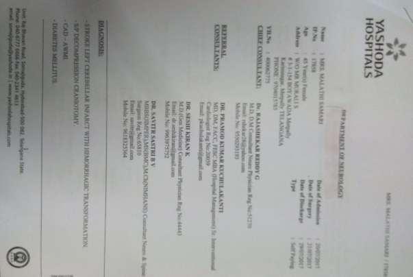Treatment details