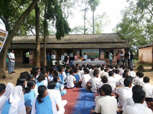 Awareness Camp organized in a local School.