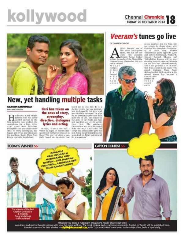 Review by Deccan Chronicle