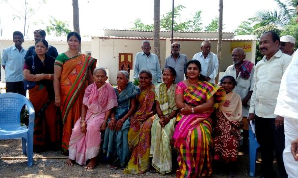 A Charity programme conducted in presence of Smt. Tangirala Sowmya MLA