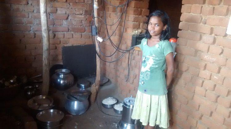 Bijayalaxmi Behera's daughter
