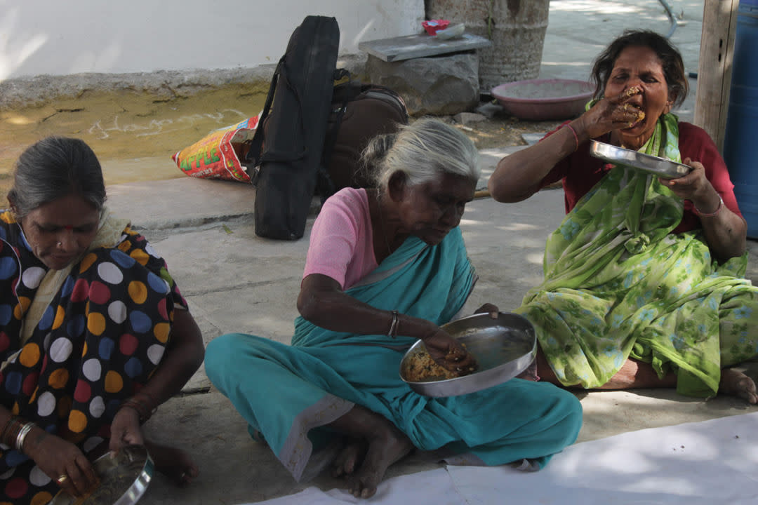 Donate food for elderly people in india