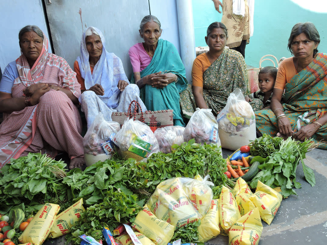 Neglected_Elderly_Persons_getting_food_provisions_from_Nonprofit