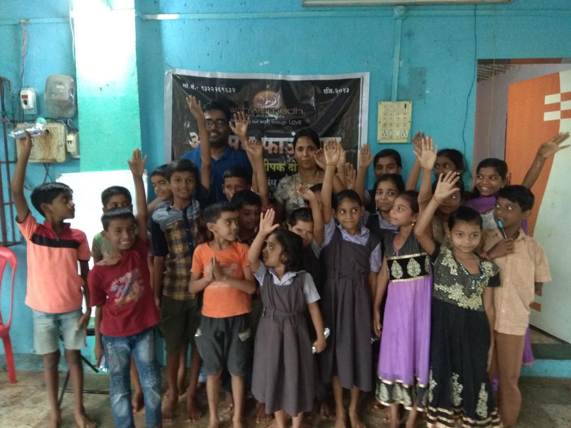 Project Ankur in Ashwamedh Foundation's Murbad Center