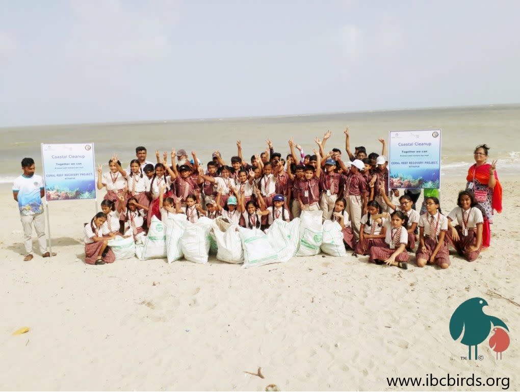 Guarding the rain-forests of the sea by Coastal Schools in Mithapur: