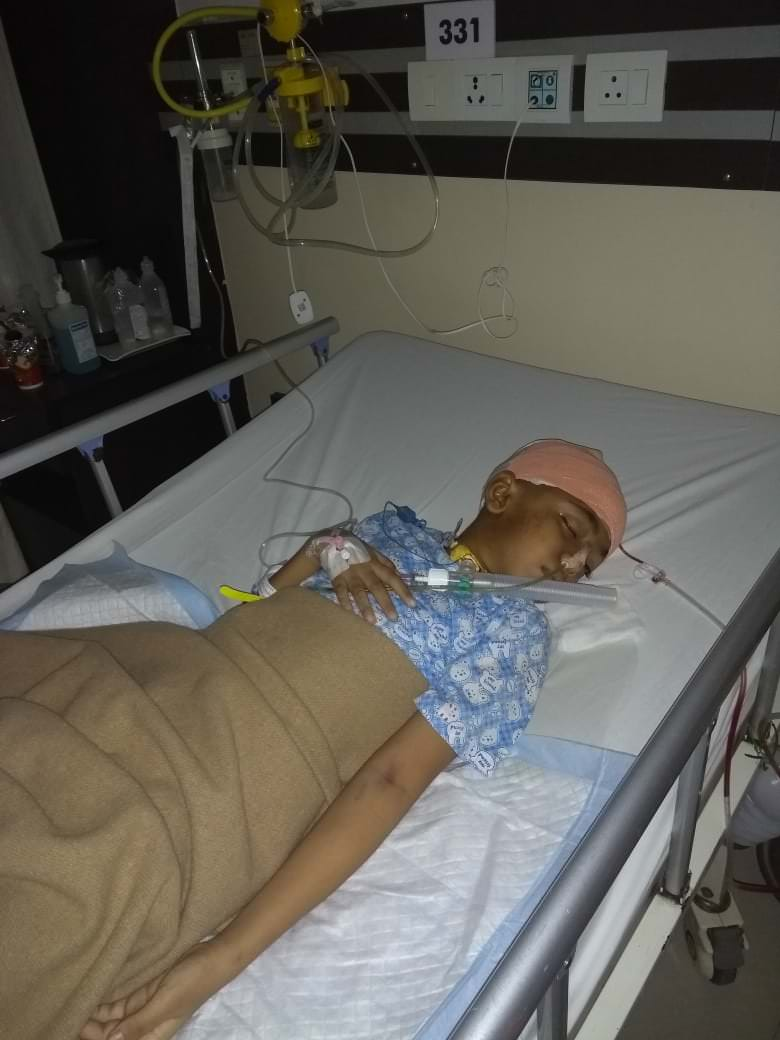 Wasif under observation after his secon operation