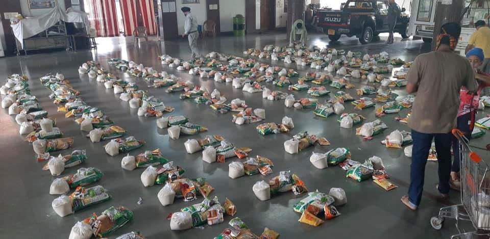 Grocery kits are getting ready for the Needy People suffering due to Covid-19 Lockdown🙏❤️ Do Donate & Support