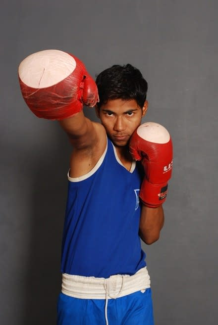 Usman, National Junior Boxing Champion 2010
