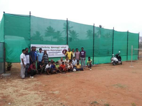 Previous Open Green-Matt Badminton Court