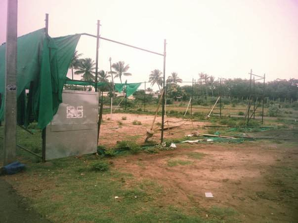 Current Situation Badminton Court