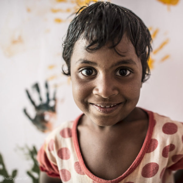 Durga - Photo of the child who dreams