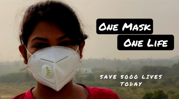 Delhi pollution, Air pollution, mask