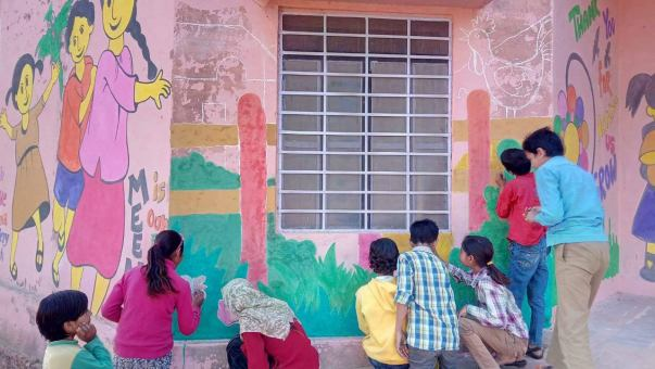 To Nurture Knowledge Paint Walls Of Government Schools Milaap