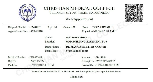 Help me to meet the treatment expense in CMC, Vellore | Milaap