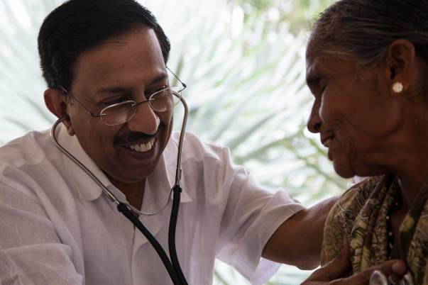 Help Dr  Ramana Rao's Village Clinic treat patients free of
