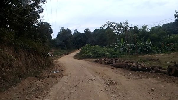 Road to Sajik Tampak (Kana Area)