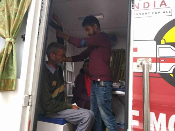 TO RUN MOBILE HOSPITAL FOR ELDERLY STAYING AT OLD AGE HOME OF NCR