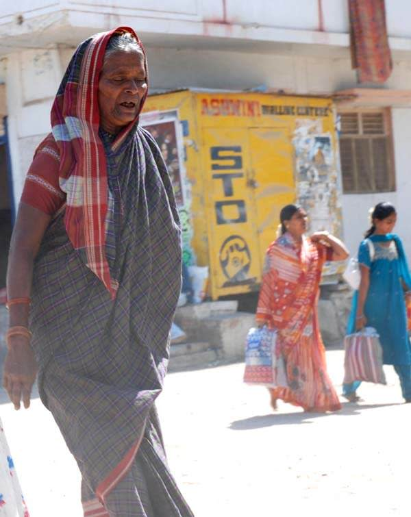 many of the one woman who got clicked in Ilkal sari.