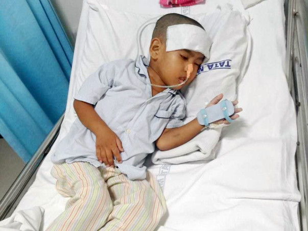 4 Years Old Amar Needs Your Help To Fight Brain Tumor
