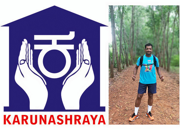 Adding life to days - Support my Run to Fundraise for Karunashraya