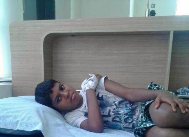 Pravin needs a bone marrow transplant