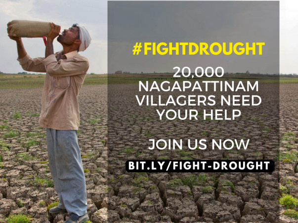 #FightDrought by Restoring Lakes & Ponds In Drought hit Tamil Nadu