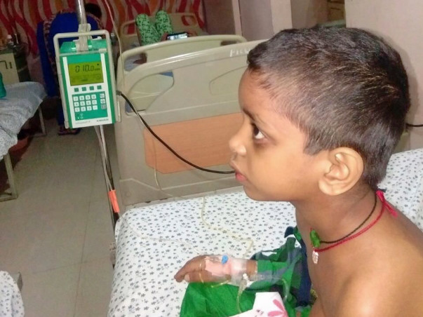 Help Ganesha Fight Blood Cancer With Two Months Of Treatment Remaining