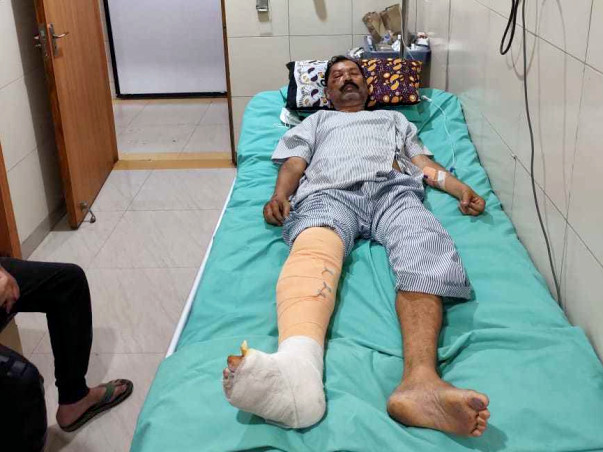 Support Samsuddin Khan Recover From Road Traffic Accident
