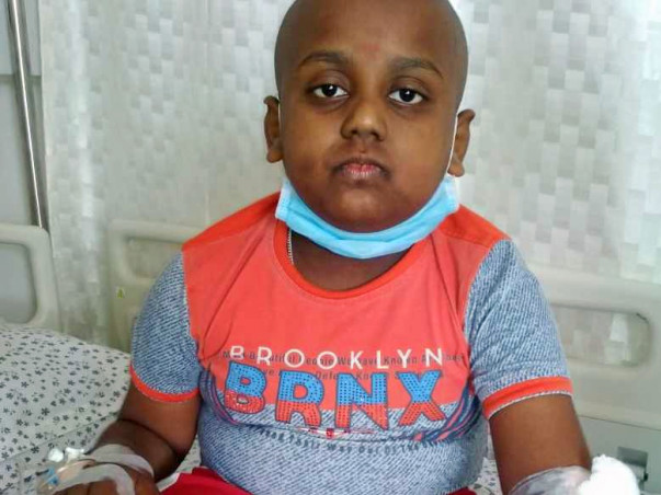 Help Atiksh To Fight Blood Cancer.