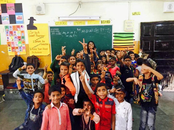 Teach for India: Empower my adventurers with the gift of learning