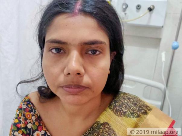 Sonalikundu Dutta needs your help to undergo her treatment