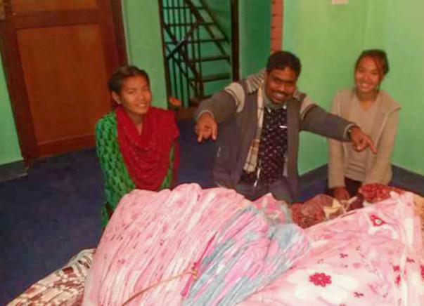 Blanket of PROTECTION to Nepal Earthquake affected children