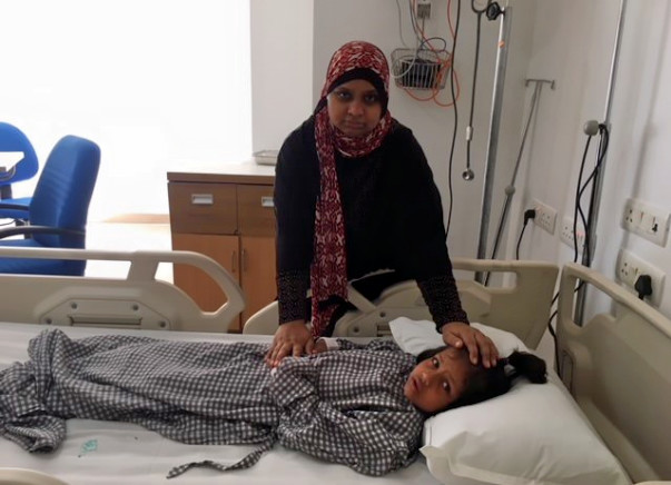 Help 5-year-old Alisha fight kidney damage