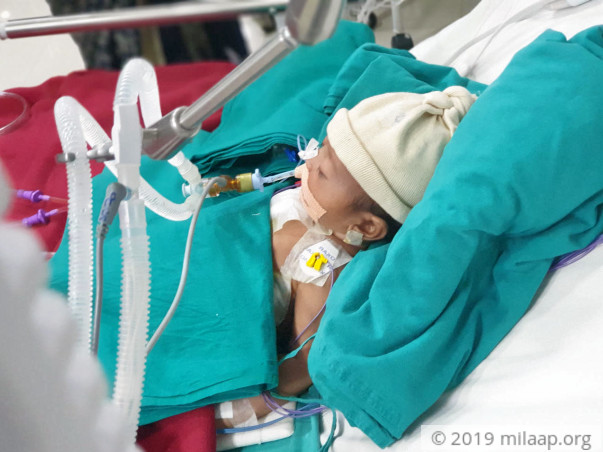 Advik Waghale needs your help to undergo his treatment
