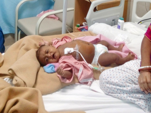 Arpadip is only 3 months baby boy Need help for chemotherapy .