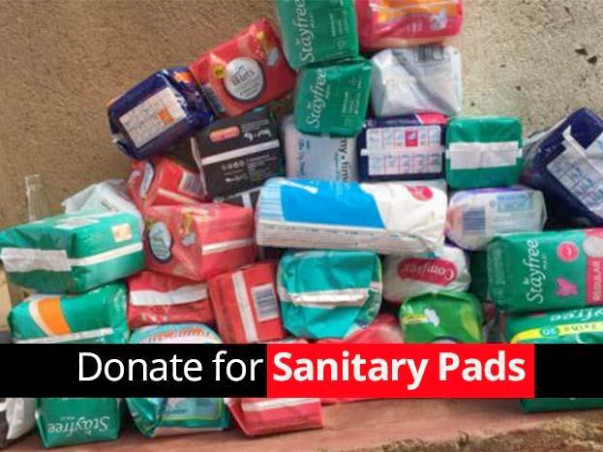 Donate ₹250 for yearly quota of sanitary pads to adolescent girls