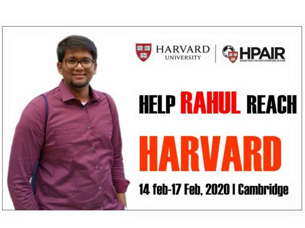 Help Rahul reach Harvard University