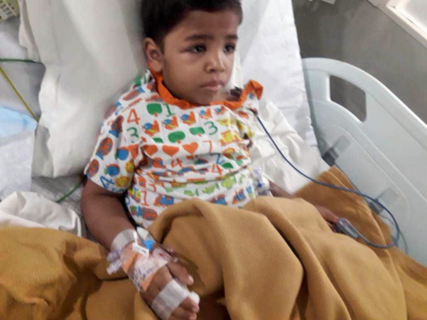 Help 5-yr-old Tejas Undergo A Bone Marrow Transplant