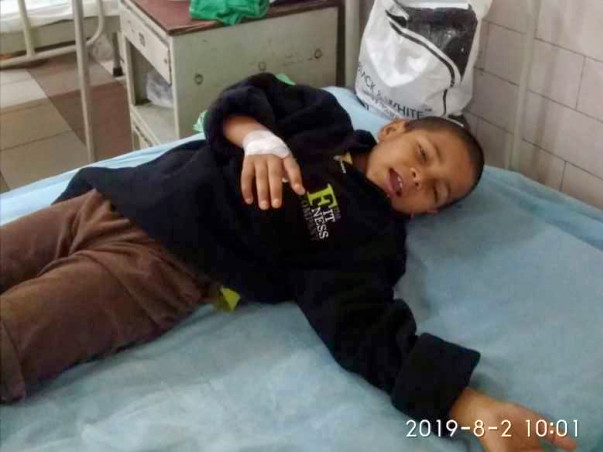 Help Mudasir Recover From Hypoglycemic Seizure.