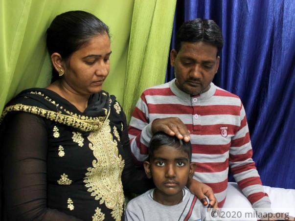 Help Hamza Ali to undergo his treatment