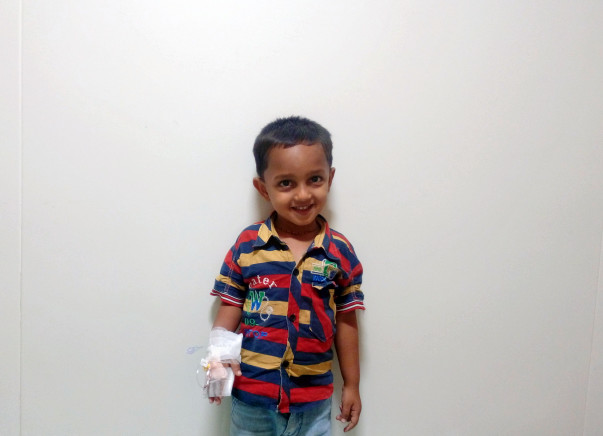 Help A 3-year-old Battling A Severe Anemia Disorder Stay Alive