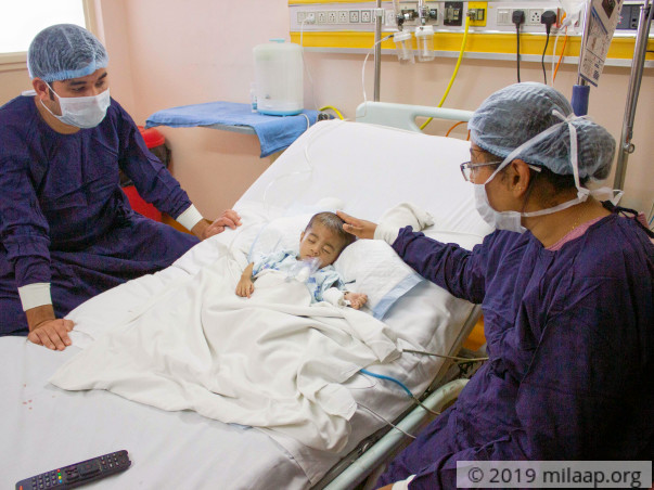 Help This 10-month-old Who Is Fighting A Lung Infection In The ICU
