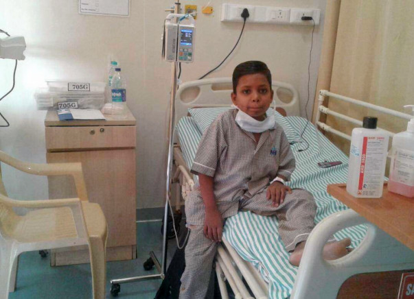Help Girish undergo treatment for blood disorder